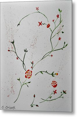 Simple Flowers #1 Metal Print