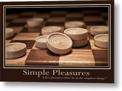 Simple Pleasures Poster Metal Print by Tom Mc Nemar