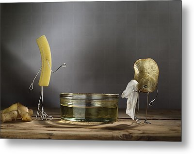 Simple Things - Potatoes Metal Print by Nailia Schwarz