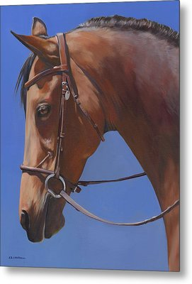 Metal Print featuring the painting Simplicity by Alecia Underhill