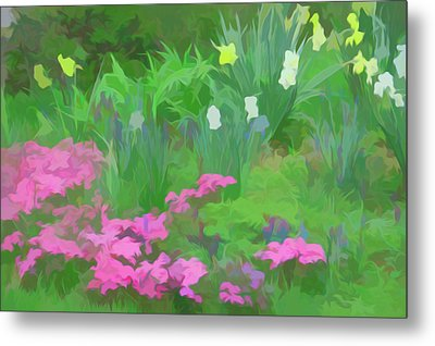 Metal Print featuring the photograph Simply Soft Garden Escape by Aimee L Maher Photography and Art Visit ALMGallerydotcom