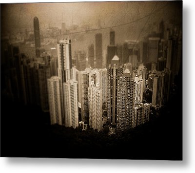 Sin City Metal Print by Loriental Photography