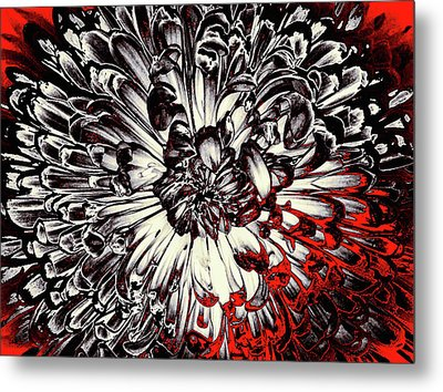 Sin City Metal Print by Susan Maxwell Schmidt