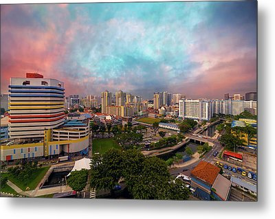 Singapore Rochor Commercial And Residential Mixed Area Metal Print by David Gn