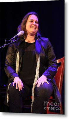 Singer Madeleine Peyroux Metal Print by Concert Photos