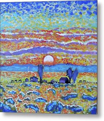 Singing Skies Metal Print by Kip Decker