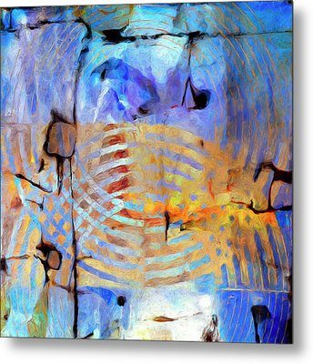 Metal Print featuring the painting Singularity by Dominic Piperata