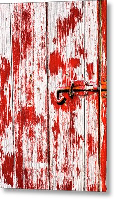Sinister Country House Details Metal Print