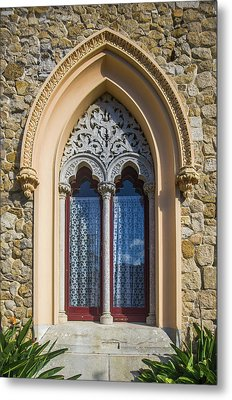 Metal Print featuring the photograph Sintra Window by Carlos Caetano