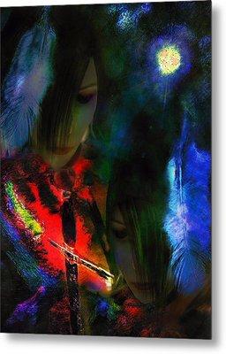 Sister Honoured Metal Print by Michelle Dick