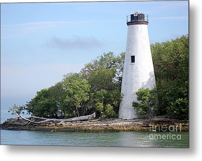Sister Island Lighthouse Metal Print