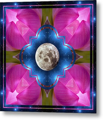 Sister Moon Metal Print by Bell And Todd