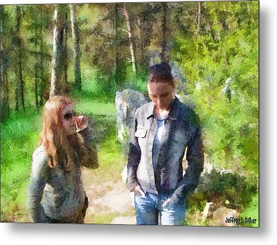 Sisters Metal Print by Jeff Kolker