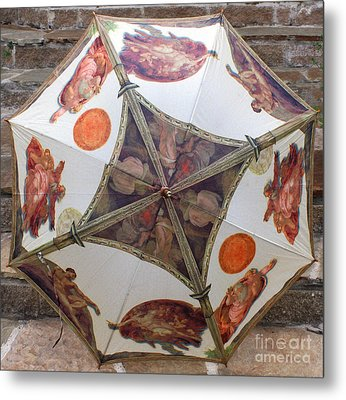 Sistine Chapel Umbrella Metal Print