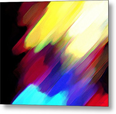Sivilia 1 Abstract Metal Print by Donna Corless
