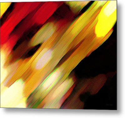Sivilia 11 Abstract Metal Print by Donna Corless