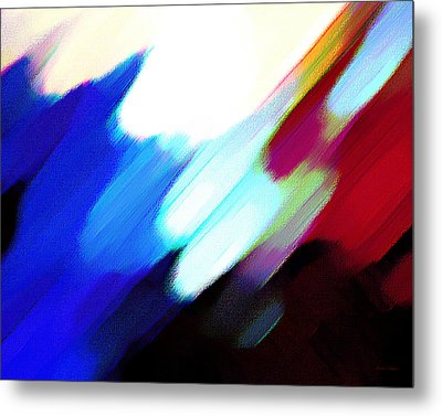 Sivilia 12 Abstract Metal Print by Donna Corless