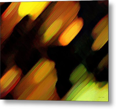 Sivilia 6 Abstract Metal Print by Donna Corless
