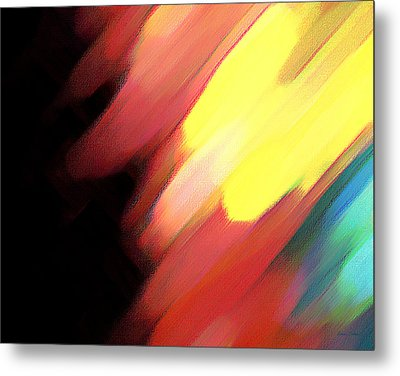 Sivilia 9 Abstract Metal Print by Donna Corless