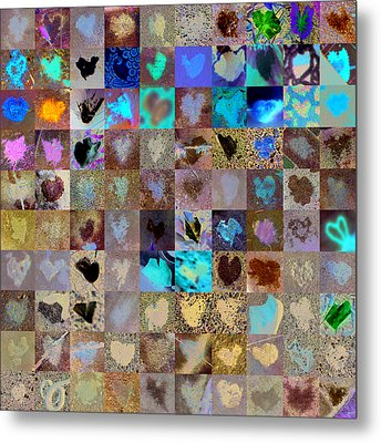 Six Hundred Series Metal Print by Boy Sees Hearts