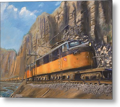 Sixteen Mile Canyon Metal Print by Christopher Jenkins