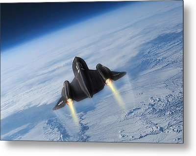Sixteen Miles High Metal Print by Peter Chilelli