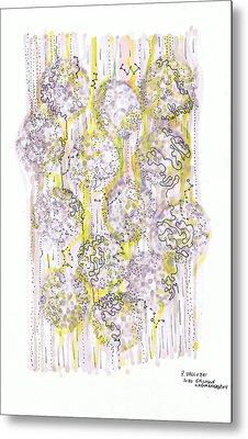Size Exclusion Chromatography Metal Print by Regina Valluzzi