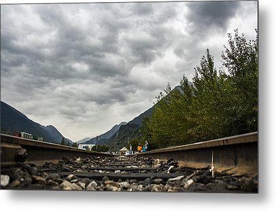 Skagway Tracks Metal Print by Robin Williams