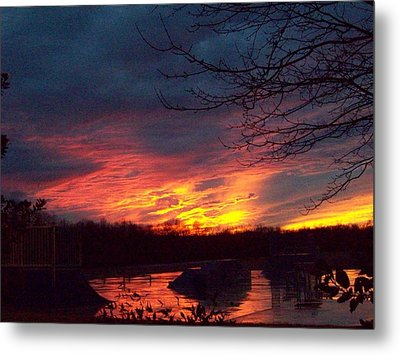 Metal Print featuring the photograph Skate Board Park One by Robin Coaker