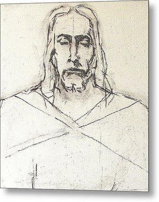 Sketch A Of Christ Metal Print