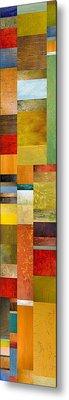 Skinny Color Study L Metal Print by Michelle Calkins
