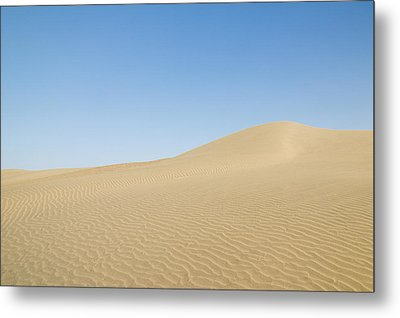 Skn 1412 Ripples On The Slope Metal Print