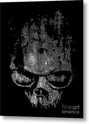 Skull Graphic Metal Print