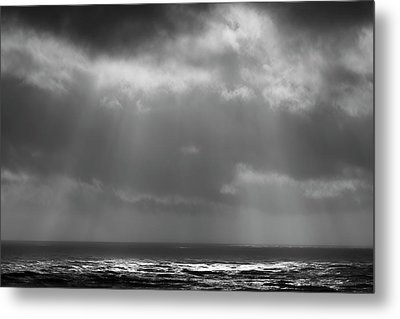 Metal Print featuring the photograph Sky And Ocean by Ryan Manuel