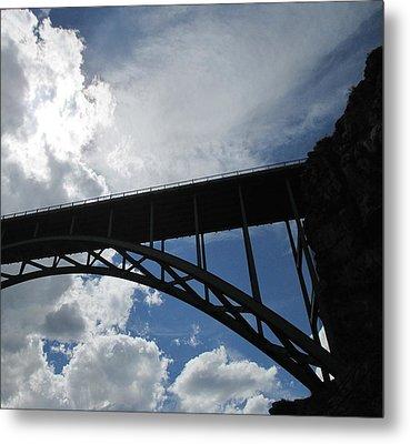 Sky Bridge Metal Print