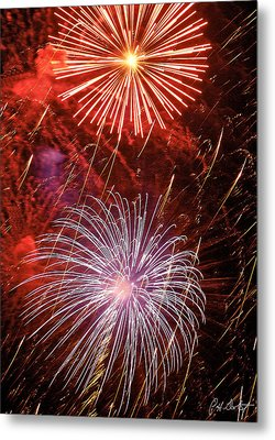 Sky Explosion Metal Print by Phill Doherty