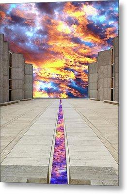 Sky Flow La Jolla Metal Print by William Dey