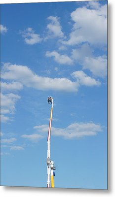 Sky Is The Limit Metal Print