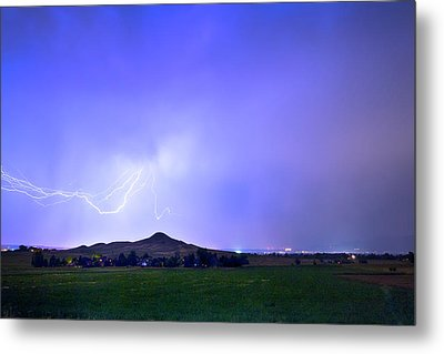 Metal Print featuring the photograph Sky Monster Above Haystack Mountain by James BO Insogna