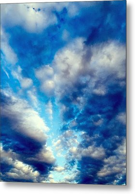 sky Metal Print by Niki Mastromonaco