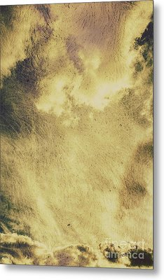 Sky Texture Background Metal Print by Jorgo Photography - Wall Art Gallery