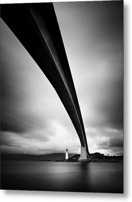 Skye Bridge Metal Print by Nina Papiorek
