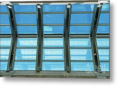 Metal Print featuring the photograph Skylight.. by Nina Stavlund