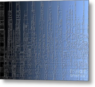 Skyline 2 Metal Print by Steve K