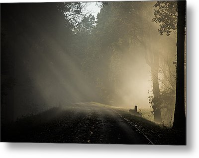 Metal Print featuring the photograph Skyline Drive One by Kevin Blackburn