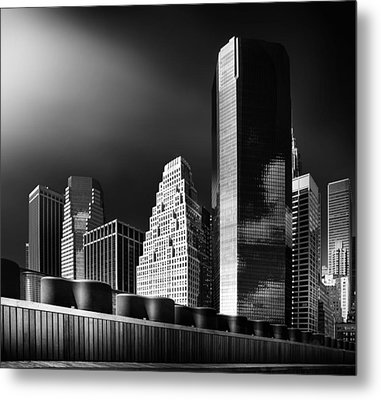 Skyline Metal Print by Hans Bauer