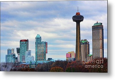 Metal Print featuring the photograph Skyline Niagara by Traci Cottingham