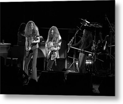 Skynyrd In Spokane Metal Print by Ben Upham