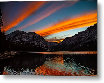 Skys Of Color Metal Print by Brian Williamson