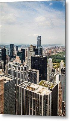 Skyscraper City Metal Print